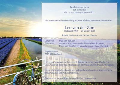 Leo van der Zon ovl kaart